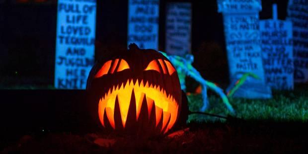 Un canular pour Halloween? Non, un véritable pendu - La Libre
