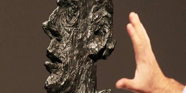 Un buste de Giacometti vendu 50 millions de dollars - La Libre