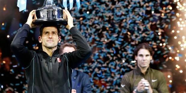 Novak Djokovic remporte le Masters de Londres (6-3 / 6-4) - La Libre