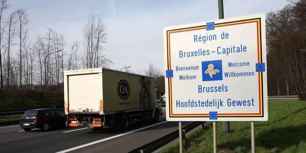 La E411 bloquée à Overijse à la suite d'un accident avec un camion - La Libre
