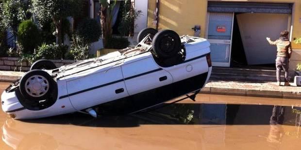 Italie: 18 morts dans des inondations exceptionnelles en Sardaigne - La Libre