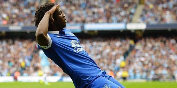 """Lukaku: """"Rester à Everton ? Pourquoi pas si on joue la Ligue des champions"""" - La Libre"""