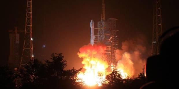 La Chine a lancé son premier véhicule d'exploration de la lune - La Libre