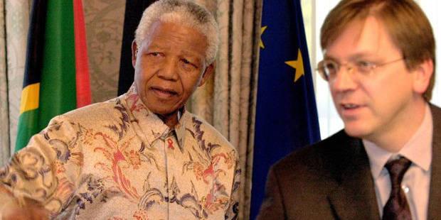 Décès de Mandela: Verhofstadt salue l'idéaliste - La Libre