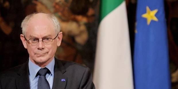 Herman Van Rompuy lauréat du Prix Charlemagne 2014 - La Libre