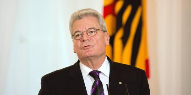 """Russie: le président allemand, premier dirigeant à """"boycotter"""" les JO de Sotchi - La Libre"""