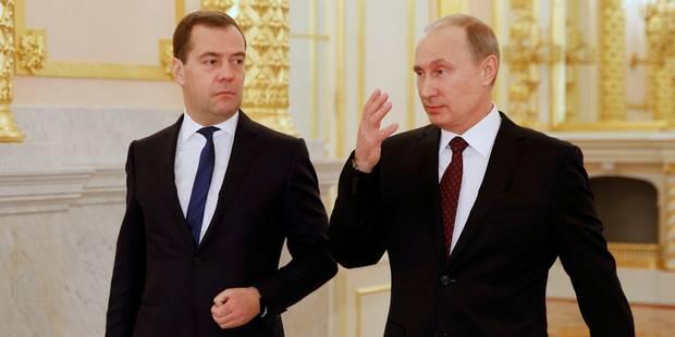 Ukraine: Poutine fait miroiter des avantages économiques - La Libre