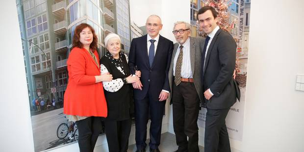 """Mikhail Khodorkovski : """"Supprimer tous les prisonniers politiques"""" - La Libre"""