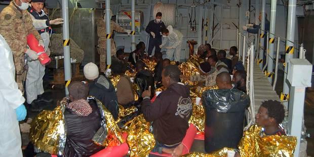 Italie: plus de 200 migrants sauvés au sud de Lampedusa - La Libre