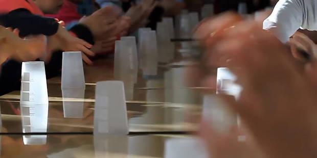 """Grâce à la """"cup song"""", le spectacle scolaire sublimé - La Libre"""