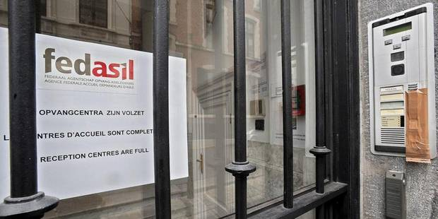 Fedasil a accueilli moins de demandeurs d'asile en 2013 - La Libre