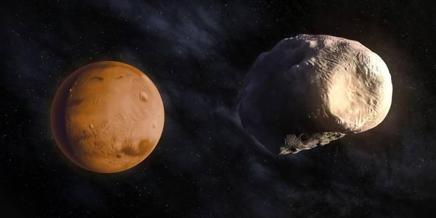 La Nasa intriguée par une mystérieuse apparition sur Mars - La Libre