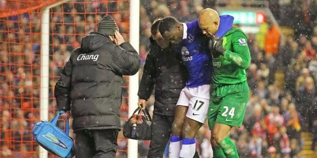 Premier League : Romelu Lukaku se blesse à la cheville - La Libre