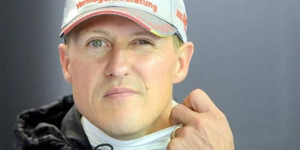 Officiel: Schumacher en phase de réveil - La Libre