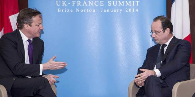 """Cameron: Hollande a choisi """"la bonne voie"""" avec son pacte de responsabilité - La Libre"""