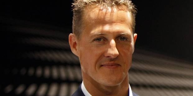 """""""Un Michael Schumacher différent d'avant son accident"""" - La Libre"""