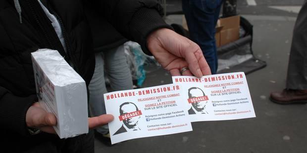 """Les """"anti-Hollande"""" poursuivent leur ennemi jusqu'à la Maison Blanche - La Libre"""