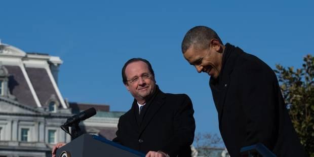 """Hollande aux USA : """"Pas toujours facile"""" d'être """"alliés"""" - La Libre"""