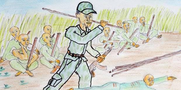 Cinq coups de bâtons pour tuer une femme: témoignage d'un ancien enfant-soldat ougandais - La Libre