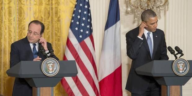 À Washington, Hollande parle anglais et fait même des blagues - La Libre