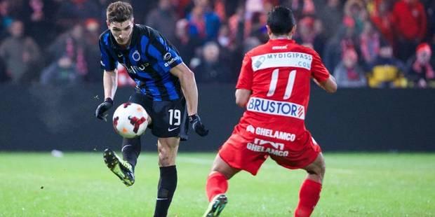 Le Club de Bruges domine Courtrai et conforte sa 2e place - La Libre