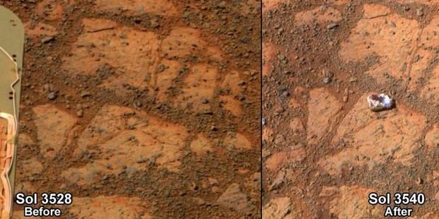 "La fin du mystère de la ""roche de Mars"" - La Libre"