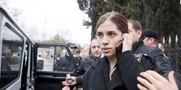 Les deux Pussy Riot arrêtées à Sotchi ont été relâchées - La Libre