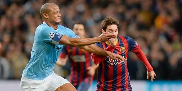 Kompany perd son duel face à Messi - La Libre
