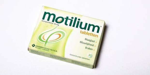 Le Motilium, un médicament dangereux bientôt retiré du marché ? - La Libre