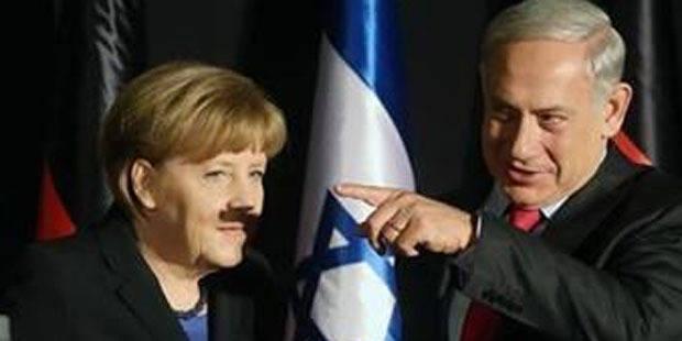 Une moustache mal placée pour Merkel - La Libre