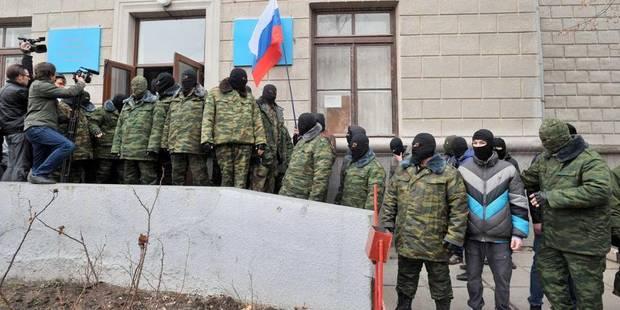 Ukraine: qui sont les hommes armés qui ont pris le contrôle de la Crimée ? - La Libre