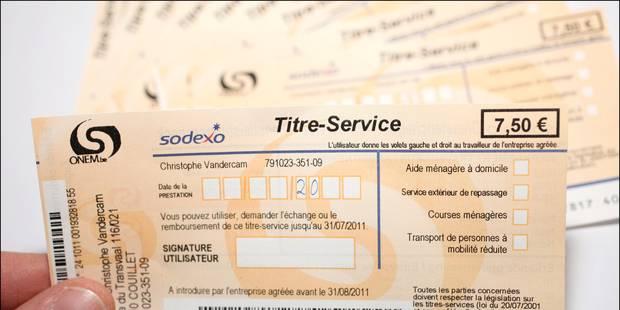 Trois mille jobs menacés en raison du ralentissement des titres-services - La Libre