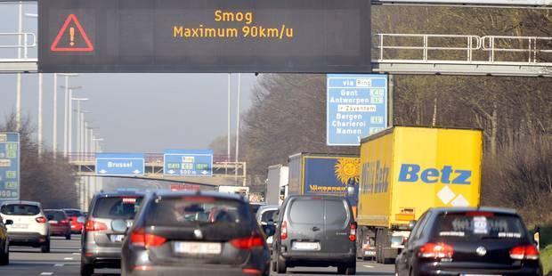 SMOG: 6227 automobilistes pris en excès de vitesse ce jeudi - La Libre