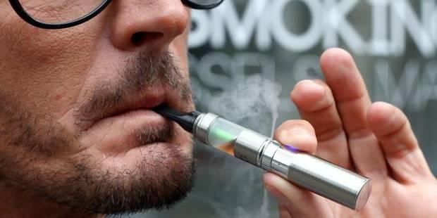 La cigarette électronique n'est pas efficace pour arrêter de fumer - La Libre