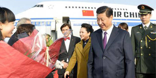 Le président chinois en Belgique pour une visite de trois jours - La Libre