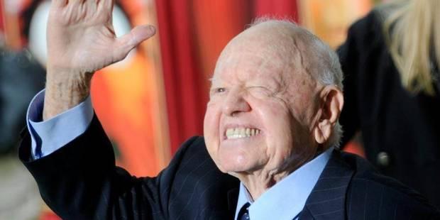 Clap de fin pour Mickey Rooney - La Libre