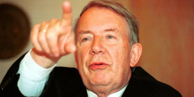Décès de l'ancien ministre Jos Chabert - La Libre
