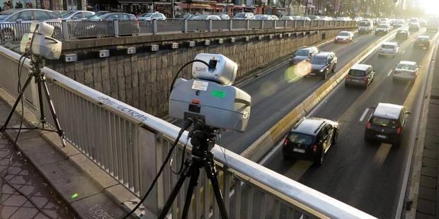 Vaste opération de contrôle à Bruxelles: 1.620 excès de vitesse - La Libre