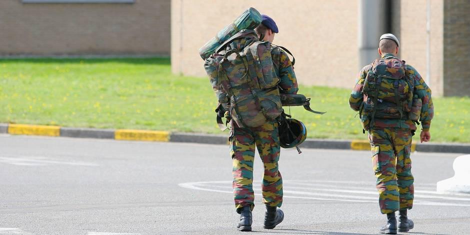Le phénomène d'attrition gêne l'armée belge - La Libre