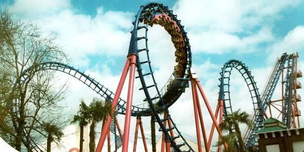 Les parcs d'attractions ont la cote durant les vacances de Pâques - La Libre