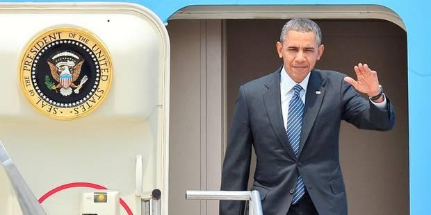 Obama est arrivé en Corée du Sud - La Libre