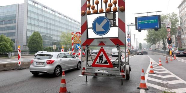 Le viaduc Reyers fermé tout l'été - La Libre