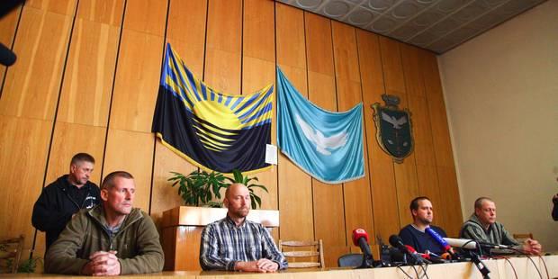 Ukraine: Un des observateurs de l'OSCE a quitté son lieu de détention - La Libre