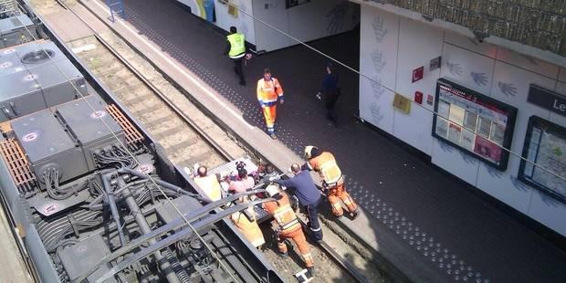 Bruxelles: Une collision de trams fait plusieurs blessés - La Libre