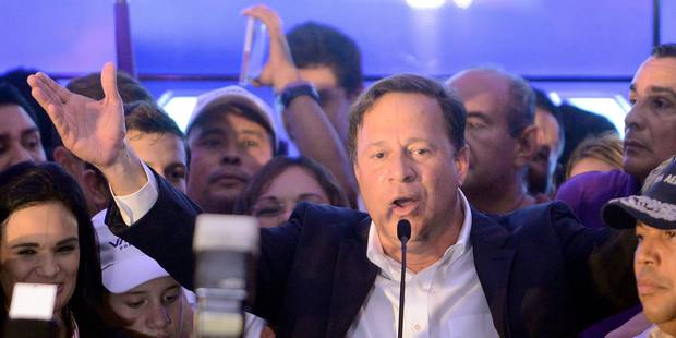 Panama: le candidat conservateur Varela remporte la présidentielle - La Libre