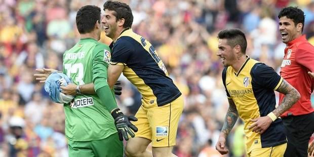 Thibaut Courtois et l'Atlético Madrid champions ! - La Libre
