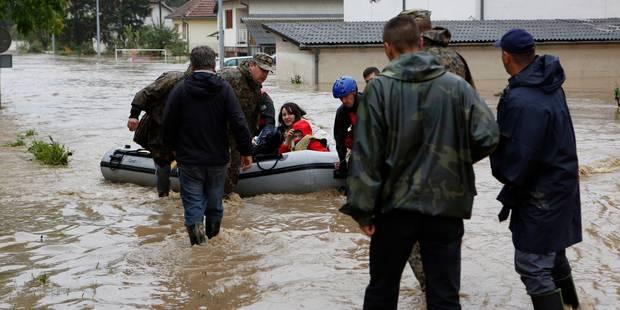 Au moins 30 morts et 15.000 évacués suite aux inondations en Bosnie et en Serbie - La Libre