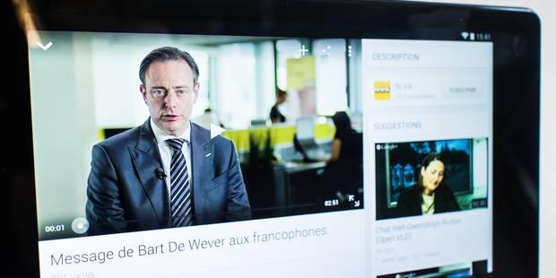 """Toxicomanes"", ""immigrants""... les mots durs de De Wever aux francophones - La Libre"