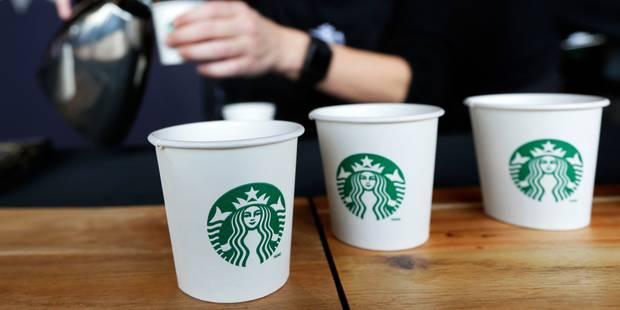 Avec Starbucks, la Grand-Place de Bruxelles s'américanise - La Libre
