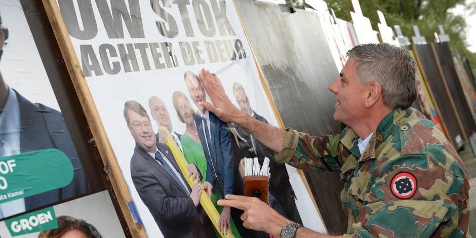 L'extrême droite a-t-elle disparu de la scène politique belge? - La Libre